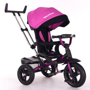 Mama Kiddies Riker Pinky Full Extra tricikli (360°-ban forgatható ülés)
