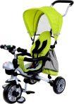 KIÁRUSÍTÁS - FUN BIKE háromkerekű full extrás multifunkciós tricikli - zöld színben