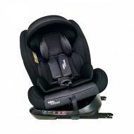 ISOFIX-es 360°-ban forgatható MamaKiddies Rotary Protect GT biztonsági autósülés (0-36 kg) fekete színben ajándék napvédővel