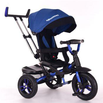 MamaKiddies Riker Bluey Full Extra tricikli (360°-ban forgatható ülés)