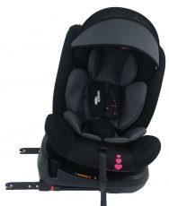 ISOFIX-es 360°-ban forgatható Mama Kiddies Rolling Safari biztonsági autósülés (0-36 kg) Princess mintával + ajándékok