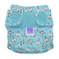 BambinoMio MioSoft mosható pelenka külső rainy days mintával