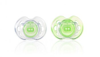 2 db BPA-mentes 0-6hó Tommee Tippee Air játszócumi