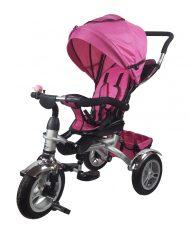 MamaKiddies AllRoad tricikli pink színben (360°-ban forgatható ülés)