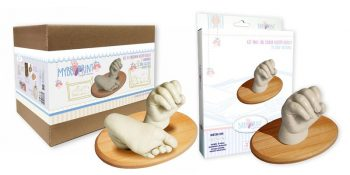 BabyPrint Kéz- és lábszobor készítő készlet