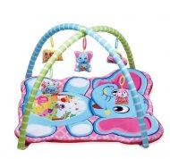 Játszószőnyeg elefánt mintával, játékhíddal
