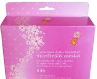 100 alkalmas sterilizáló zacskó (5 db) Baby Bruin