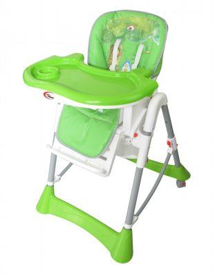 KIÁRUSÍTÁS - Mama Kiddies Star zöld erdei mintás multifunkciós etetőszék + Ajándék