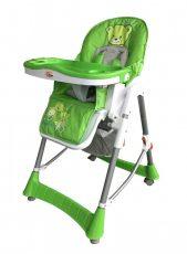 MamaKiddies ProComfort zöld maci mintás multifunkciós etetőszék + Ajándék