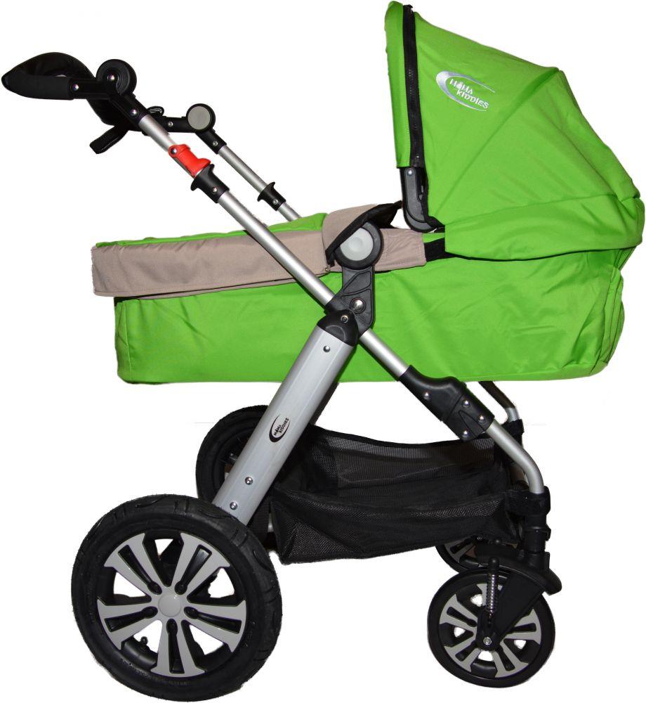 MamaKiddies VIP Lifestyle 4az1-ben babakocsi zöld színben ... eb1506bacd