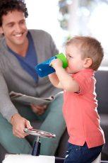 Philips Avent első ivópohár 340 ml - kék