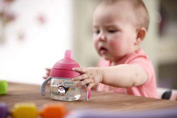 Philips Avent varázsitató + fül - 200 ml rózsaszín