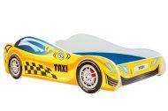 MamaKiddies 140x70-as gyerekágy Taxi dizájnnal - matraccal