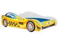 MamaKiddies 160x80-as gyerekágy Taxi dizájnnal - matraccal