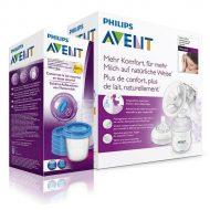 Philips Avent Natural kézi mellszívó + Ajándék VIA pohár 180 ml