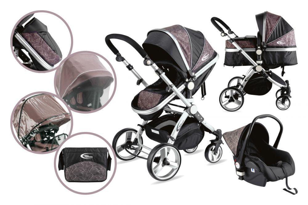 MamaKiddies Prémium Plus Baby 3 az 1-ben babakocsi kiegészítőkkel ... 47024acd7e