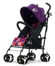 KIÁRUSÍTÁS - MamaKiddies Mignon full extrás esernyőre csukható sport babakocsi lila színben + Ajándék