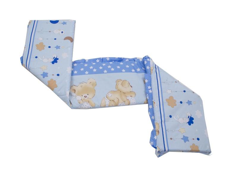 MamaKiddies Sofie Dreams 180°-os kék rácsvédő macis mintával ... 57f311a05d