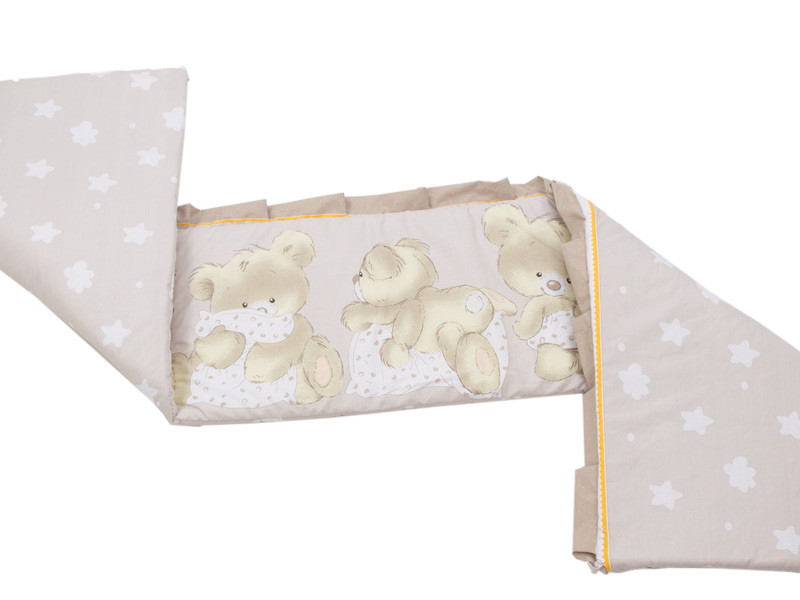 MamaKiddies Sofie Dreams 180°-os barna rácsvédő macis mintával ... 7dea3b03b1