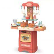 29 részes Mama Kiddies Effluent Kitchen babakonyha szett pink színben