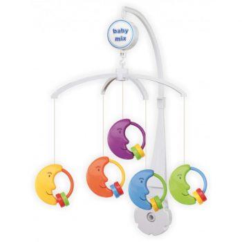 Baby Mix holdas zenélő-forgó játék