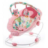 Baby Mix rezgős pihenőszék - halvány rózsaszín