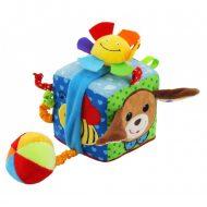 Baby Mix kutyás plüsskocka, fejlesztő játék