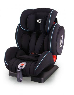 Mama Kiddies Angel Wings (9-36 Kg) autósülés protektorral fekete