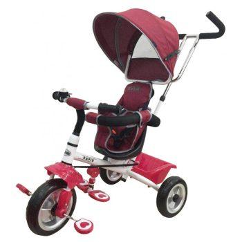 Baby Mix Rapid prémium tricikli vörös színben