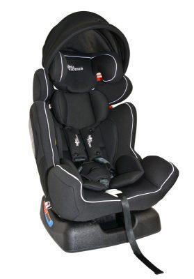 Mama Kiddies Baby Extra Plus autósülés (0-36 kg) fekete színben ajándék napvédővel