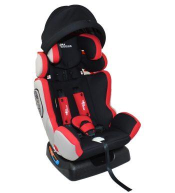 MamaKiddies Baby Extra Plus autósülés (0-36 kg) piros színben ajándék napvédővel