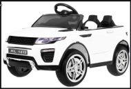 Range Rover Evoque elektromos terepjáró távirányítóval fehér színben