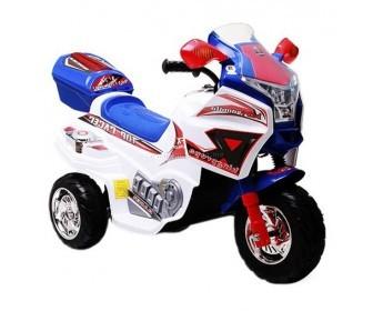 Baby Mix elektromos háromkerekű motor kék-fehér színben