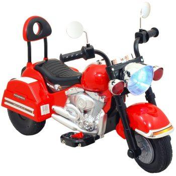 Elektromos motor a Baby Mixtől piros színben