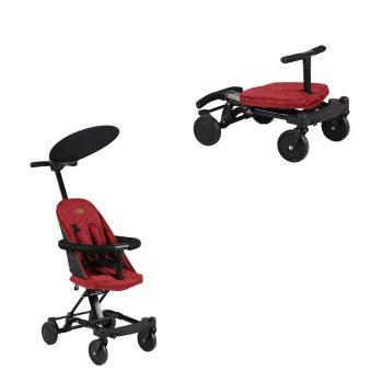 Mama Kiddies Neo átalakítható sport babakocsi piros színben