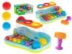 Interaktív színes játékzongora