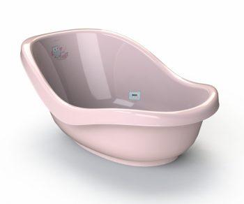Babylon Doony rózsaszín babakád baglyos mintával beépített hőmérővel