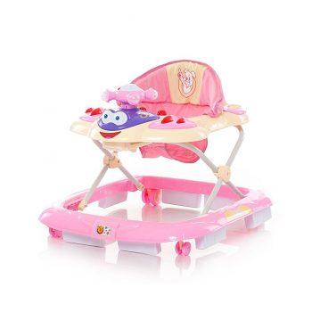 Chipolino Teddy bébikomp - Pink