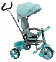 Baby Mix Ecotrike 2 gyermek tricikli türkiz zöld színben