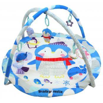 Baby Mix kör alakú pingvines játszószőnyeg