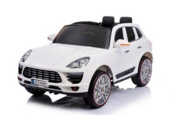 Kétüléses limited edition távirányítós elektromos terepjáró fehér színben