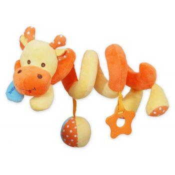 Zsiráfos spirál fejlesztő játék babakocsira / babahordozóra