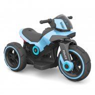 Kék elektromos rendőrmotor