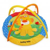 Baby Mix kör alakú oroszlános játszószőnyeg