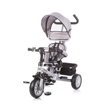 Chipolino Twister tricikli kupolával - szürke