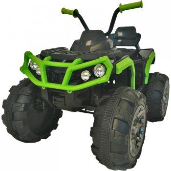 Profi elektromos quad zöld színben