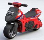 Lábbal hajtható piros kétkerekű motor