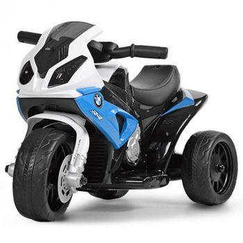 BMW háromkerekű elektromos sportmotor kék színben