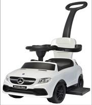 Mercedes-Benz fehér bébitaxi - világít, hangot ad
