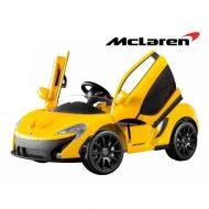McLaren elektromos autó távirányítóval narancs színben